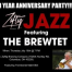 Thumbnail image for The Brewtet Jazz Jam Sessions at Zaftig Podcast, Anniversary Show