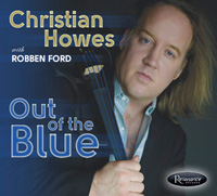 "Post image for New Christian Howes CD ""Out of the Blue"""