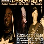 Post image for Descendre Playing 2 Free Shows at Ama Vera's Community Garden