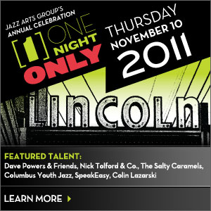 """Post image for """"One Night Only"""" annual celebration at the Lincoln Theatre from the Jazz Arts Group"""