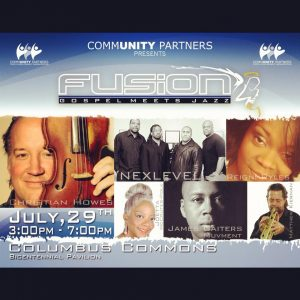 Post image for Gospel Jazz Fusion Concert at Columbus Commons