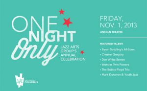 "Post image for Jazz Arts Group's ""One Night Only"" Lineup for 2013"