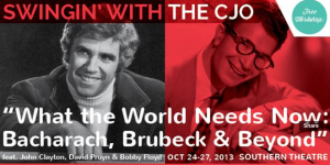 Post image for What the World Needs Now: Bacharach, Brubeck & Beyond