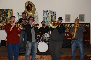 Post image for New Basics Brass Band Celebrates 20 Years Saturday