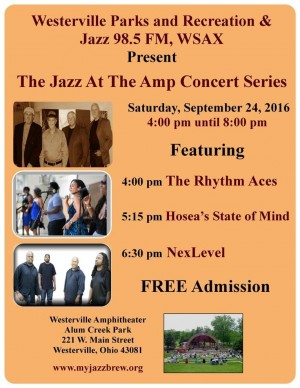 Post image for JazzColumbus Weekly – September 22, 2016