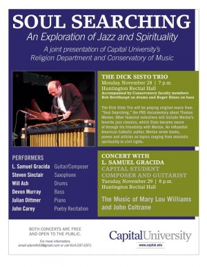 "Post image for ""Soul Searching"" Concerts at Capital University"
