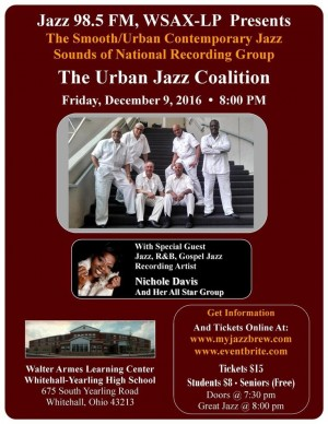 Post image for Jazz 98 Holiday Concert with Urban Jazz Coalition