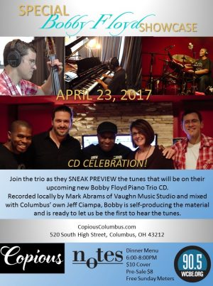 Post image for JazzColumbus Weekly – April 20, 2017