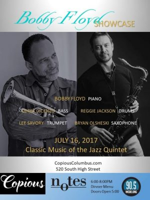 Post image for JazzColumbus Weekly – July 13, 2017