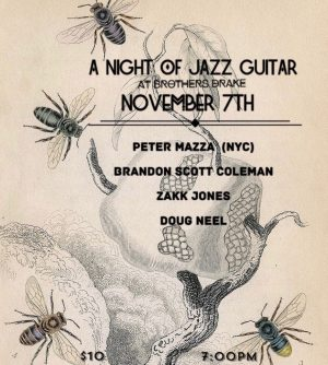 Post image for Guitarist Peter Mazza in Columbus November 6-7