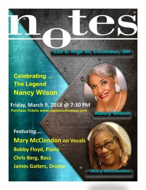 Post image for Celebrating the Legendary Nancy Wilson with Mary McClendon