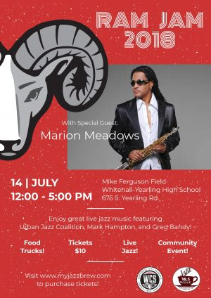 Post image for Inaugural Whitehall WSAX Ram Jam with Marion Meadows July 14
